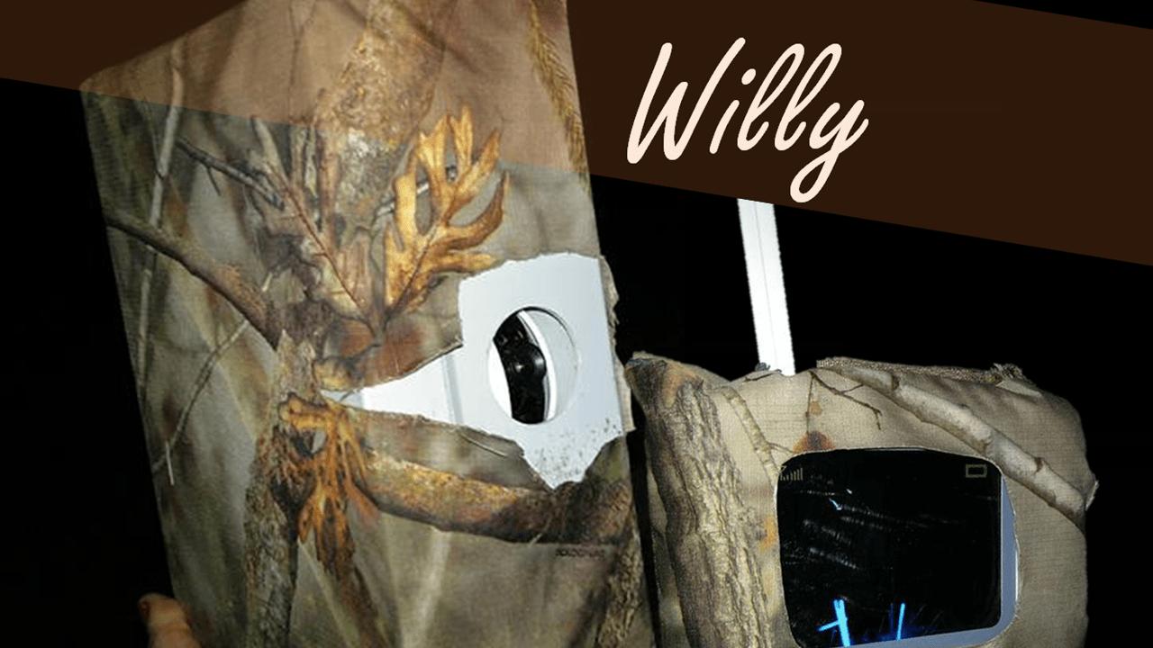 El tercer elemento: Willy, nuestro monitor de larga distancia con visión nocturna