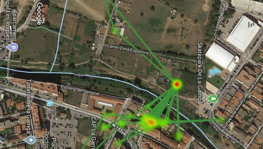 Triangulación de mapas